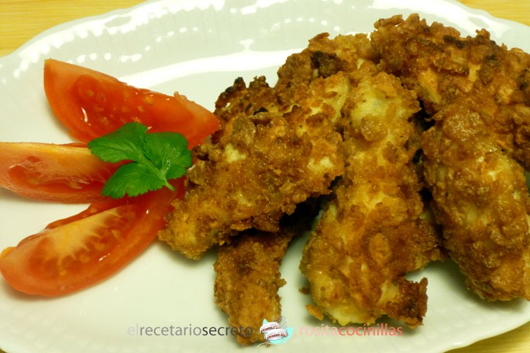 nuggets con cereales integrales