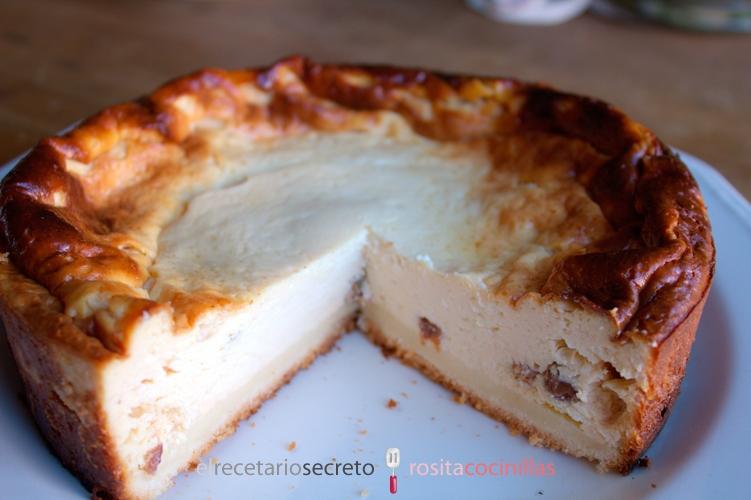 Tarta de queso continental