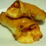 Hojaldritos de jamón y queso