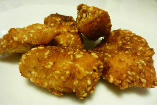 bocaditos de pollo crujientes