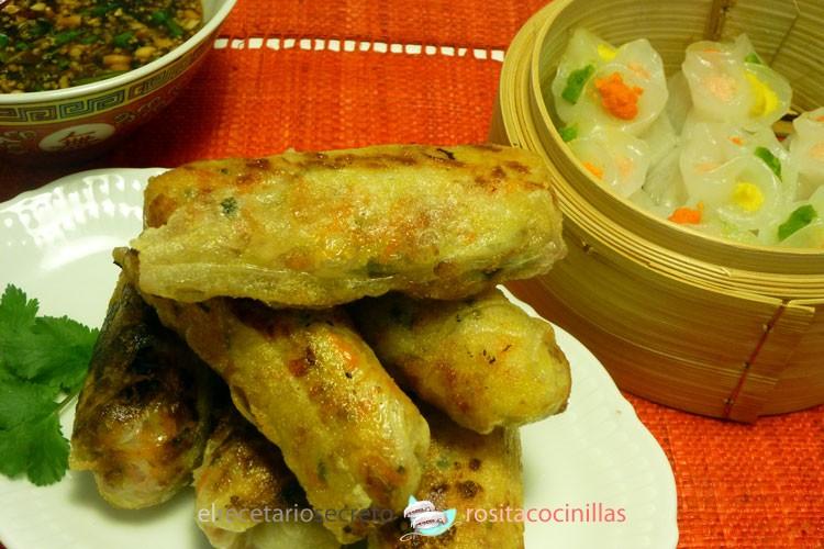 Nems (rollitos vietnamitas)