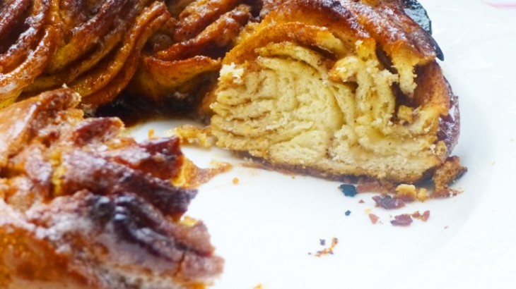 Rosca de canela (kringle estonia)