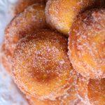 Buñuelos de calabaza y naranja
